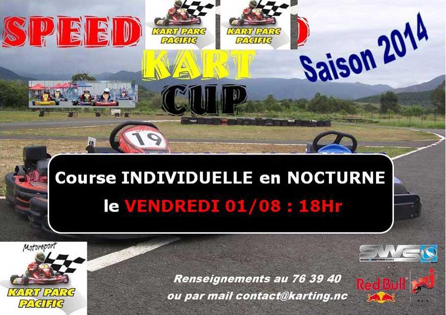 Course NOCTURNE individuelle                                                                Vendredi 01/08 : 18 hr !!